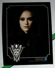 TWILIGHT NEW MOON VOLTURI CREST JANE CHARACTER VAMPIRE DAKOTA FANNING B&W CARD