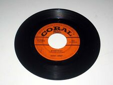45 Rpm BUDDY HOLLY Peggy Sue/Everyday CORAL 9-61885