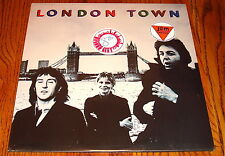 PAUL McCARTNEY LONDON TOWN IMPORT LP WITH INSERT AND POSTER IN SHRINK SEALED!