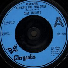 """SIAN PHILLIPS bewitched bothered and bewildered/what is a man CHS 2470 7"""" WS EX/"""