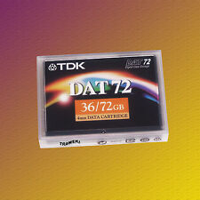 TDK DAT 72, DC4-170S, 36/72 GB, Data Cartridge Datenkassette, NEU & OVP