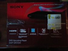 Sony 1080p Full HD Upscaling Multi-format DVD CD Player w/ HDMI Out | DVP-SR510