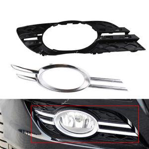 Front  Fog Light Grill Chrome Trim Cover RH For Mercedes-Benz E-CLASS W211 07-09