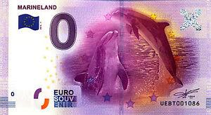 06 ANTIBES Marineland, 2016, Billet 0 € Souvenir