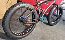 """TWO 26""""x4"""" Beach Bum Innova Tires Fat bike beach cruiser. Compare to Duro"""