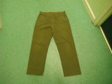 "Ben Sherman Classic Fit Jeans W 34"" L 27"" desvanecido oscuro verdoso/Marrón Hombres Jeans"