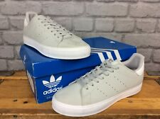 ADIDAS MENS UK 7 EU 40 2/3 STAN SMITH GREY WHITE SUEDE TRAINERS LG