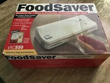 Tilia Food Saver Home Vacuum Packaging System Vac550 with bonus canister