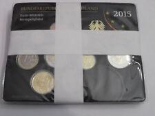 Pièces euro d'Allemagne Année 2015
