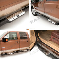 "99-16 Ford Super Duty Super Crew 6"" Step Steel Running Board Side Steps Nerf Bar"