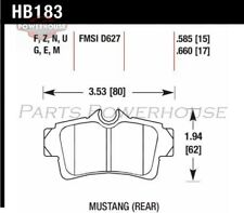 HAWK HB183F.585 HPS Performance Street Brake Pads Ford Mustang 1994-2001 2003-20