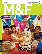 M&F Marriage and Family by David Knox