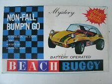 Vintage HC Bump'N Go Battery Operated Beach Buggy in Box, #910