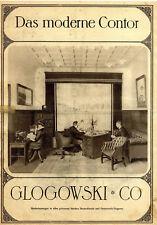Kleinplakat Clogowski & Co. Das moderne Contor Bürowerbung von 1913