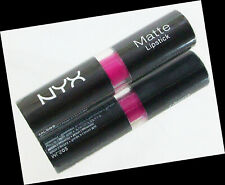 NEW AUTHENTIC 1PC. NYX MATTE LIPSTICK MAKEUP COSMETICS 4.5g #MLS02 SHOCKING PINK