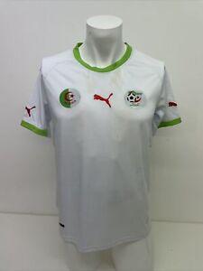 2010 Mens Algeria International Football Shirt - Puma - Away - Small A94
