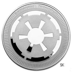 2021 Star Wars Galactic Empire 1 oz Silver Coin