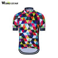 Cycling Short Sleeve Jersey Women Summer Road Bike Bicycle Clothing Tops B82
