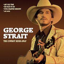 GEORGE STRAIT - THE COWBOY RIDES AWAY/RADIO BROADCAST  CD NEW+