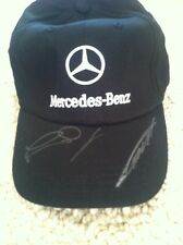 NICO ROSBERG AMG MERCEDES NIKI LAUDA Dual Signed Hat AutoGraph F1 2016 CHAMPION