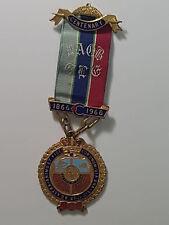 RAOB GLE 1866-1966 Medal & Ribbon Caronia Lodge Parry B'HAM Aldridge Grove House