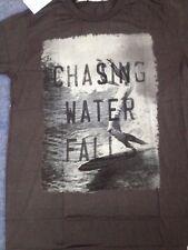 Iron and Resin Chasing Water Falls T-Shirt - Black Small