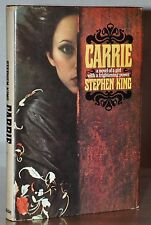 SIGNED 1ST BOOKCLUB ED ~ CARRIE~ STEPHEN KING ~WITH COA FROM JAMES SPENCE