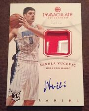 Nikola Vucevic 2012-13 Panini Immaculate Auto Patch RC 15/25 Rookie Magic RPA