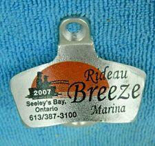 Scarce Starr X Bottle Opener, Rideau Breeze Marina, Seeley's Bay Ontario Canada