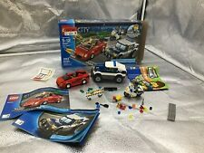 60007 Lego Complete City High Speed Chase police minifigure cops robber