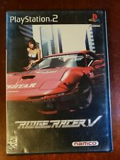 Ridge Racer V 5 (Sony PlayStation 2, PS2 2000) Complete With Manual CIB Tested