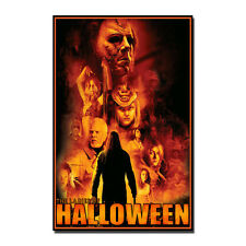 Halloween Rob-2 Poster Art Silk Fabric USA Heroes Movie Poster 13x20 inches J382
