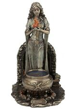 "9.5"" Brigid - Goddess of Hearth and Home Statue Sculpture Irish Mythology"