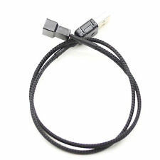 USB A male to Fan 3-Pin 3pin /4-Pin 4pin Adapter Cable for 5V bf