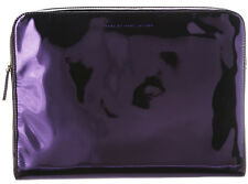 "Marc Jacobs Techno Purple Hologram iPad 13"" Computer Sleeve Case NWT"