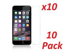 10 x Premium .33mm Tempered Glass Screen Protector Guard for iPhone 6 6S Plus