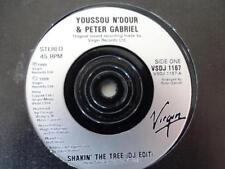 Youssou N'dour Peter gabriel shaking the tree DJ ed 1989 Virg 45T-Vinyl -EX/EX-