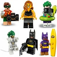 DC Universe Batman Joker Robin Penguin Superman Green Lantern lego Mini Figures