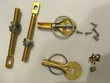 Gold Competition Bonnet Pins Autograss BRISCA Stock Car Rally Kit Car