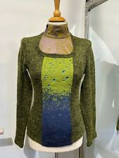 SAVE THE QUEEN DESIGNER TURTLENECK JUMPER SIZE M MADE IN ITALY