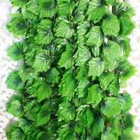 82ft Artificial grape Ivy vine faux Leaf Garland Plants Fake Foliage 25M