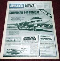 Aviation News Magazine 6.18 Grumman F-14 Tomcat,Hawker Fury,RAE Llanbedr