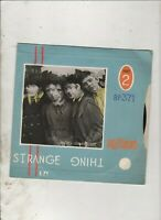 "BUZZCOCKS Strange Thing/Airwaves Dream UK 7"" w/PS Reverse Sleeve PUNK ROCK"