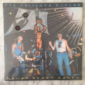 Roman Beach Party by The Celibate Rifles (LP,signed,d/load code) - BRAND NEW