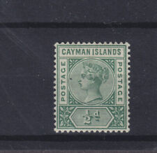 Cayman Islands QV SG 1 shade Mounted Mint