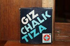 Vintage Brasil Estrela Giz Chalk Tiza Original Box Full Broken Pieces