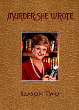 MURDER SHE WROTE The COMPLETE SECOND SEASON 22 Episodes 6-Disc DVD Set NEW