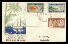 DR WHO 1948 TOKELAU ISLANDS FDC PICTORIAL  C231208