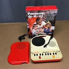 Panasonic SG-123 Do Re Mi Mini Organ Record Player Turntable Mic AS-IS Display