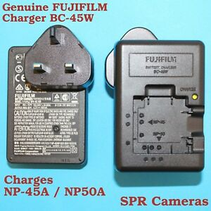Genuine Original FUJIFILM Charger BC-45W for Battery NP-50 NP-45 NP-45A NP-45S